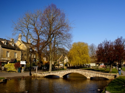 Oxford a okolí - Cotswolds, Bourton on the Water