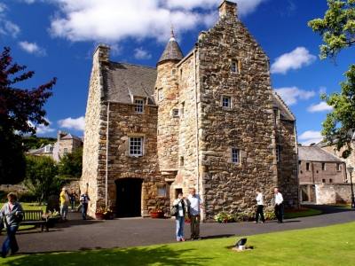 Skotsko - Jedburgh, Queen Mary´s House